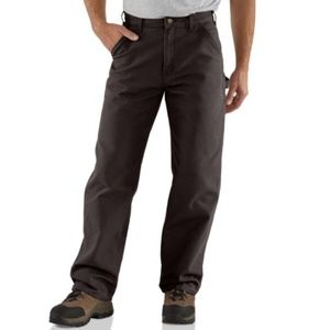 Carhart Washed Duck Carpenter Work Pants